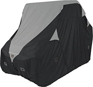Classic Accessories QuadGear Black/Grey QuadGear UTV Deluxe Storage Cover (For Larger 2-3 Passenger UTVs Up To 125
