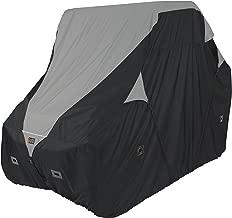 Classic Accessories QuadGear Black/Grey QuadGear UTV Deluxe Storage Cover (For Mid Sized 2 Passenger UTVs Up To 113