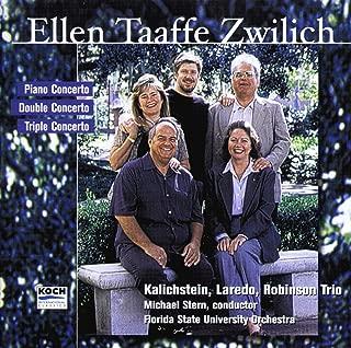 Zwilich: Double Concerto; Triple Concerto; Piano Concerto