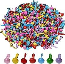 manualidades 250 piezas Clavijas de scrapbooking sujetadores mini brads para hacer tarjetas suministros Chingde Mini Brads herramientas de bricolaje