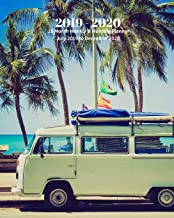 2019 - 2020 | 18 Month Weekly & Monthly Planner July 2019 to December 2020: Volkswagen at the Beach Cars and Trucks Vol 9 Monthly Calendar with ... Holidays– Calendar in Review/Notes 8 x 10 in.