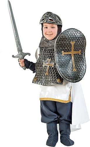 Carnevale Venizano CAV1060-S - Kinderkostüm CROCIATO - Alter  7-10 Jahre - Größe  S