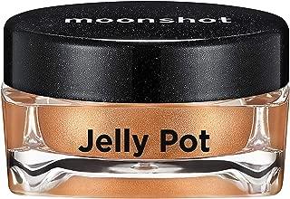 ムーンショット(moonshot) ブラックピンク ゼリーポット パールタイプ アイシャドウ Jelly Pot Pearl Type Eyeshadow (P07 モカマティーニ Mocha Martini)