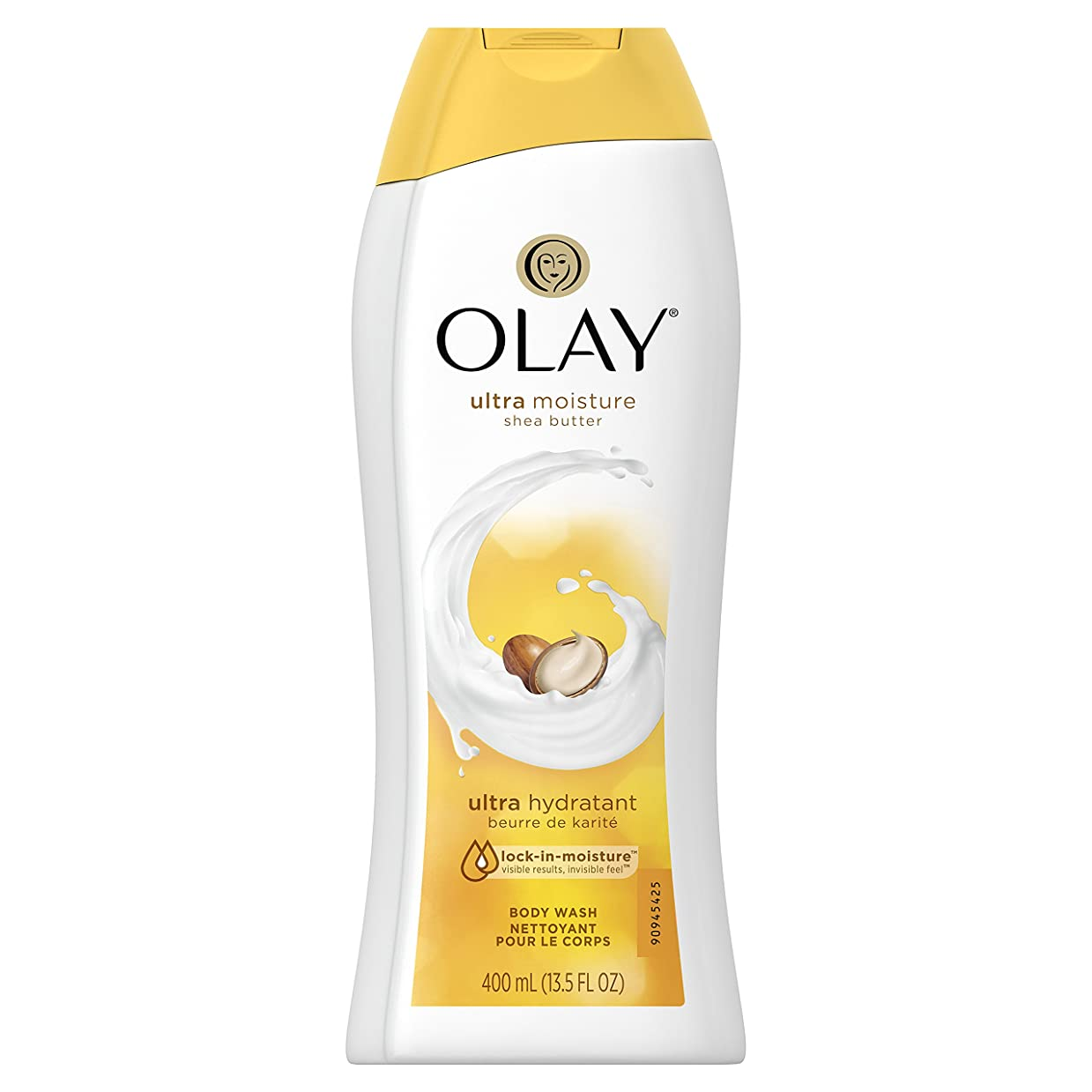 抽象終了する中絶Olay Ultra Moisture Moisturizing Body Wash With Shea Butter, 13.5 oz. 2本セット