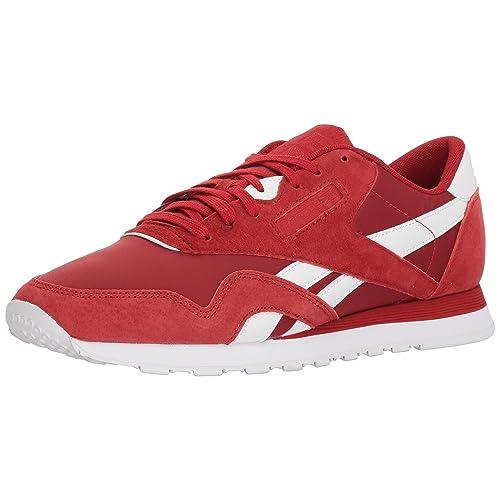 d22940cb32b Reebok Men s Cl Nylon Pn Sneaker