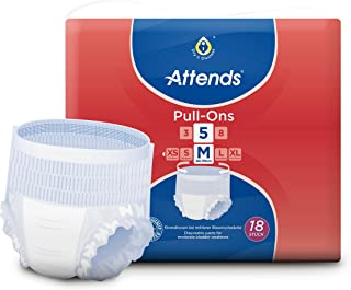 Attends Pull Ons 5, Medium, Pack of 18