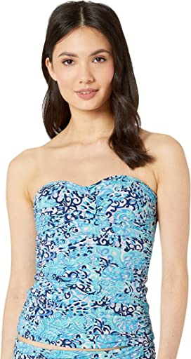 d9ae7fb07a255f Lilly Pulitzer Belize Tankini Top at Zappos.com