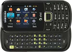Samsung Evergreen A667 Unlocked GSM Phone with Full QWERTY Keyboard + Number Pad, 2MP Camera, GPS, Bluetooth, FM Radio, MP3 Player, microSD Slot - Black