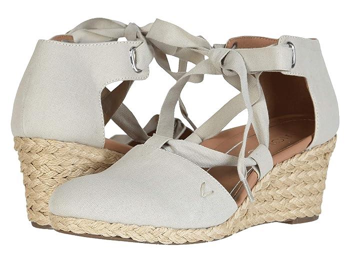 VIONIC  Kaitlyn (Oat) Womens Wedge Shoes