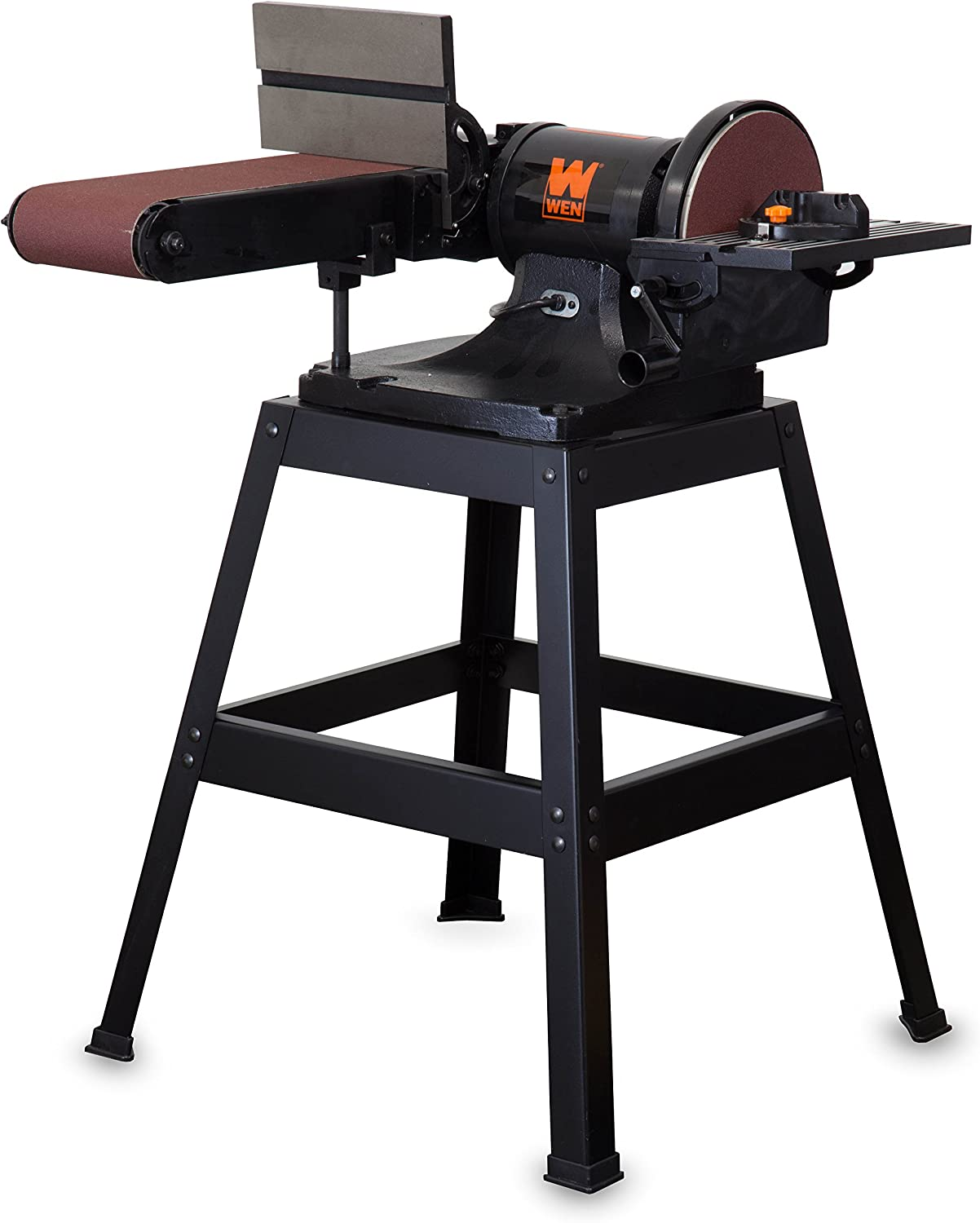 WEN 6508 6 x 48 in. Belt 9 Sander with Disc Stand Excellence and Max 82% OFF
