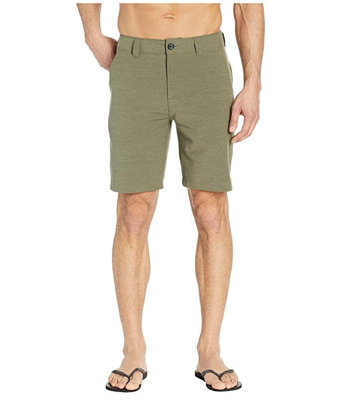 Prana Rotham Shorts (Cargo Green) Men