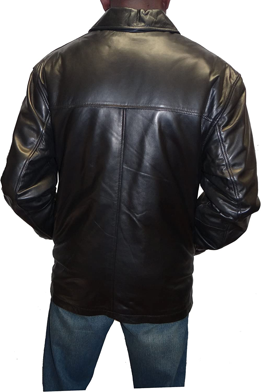 Knoles&Carter Zip Front Leather Jacket