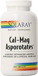 Solaray Calcium and Magnesium Asporotate Capsules   240 Count