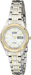 Women's Eco-Drive Two-Tone Stainless Steel Watch
