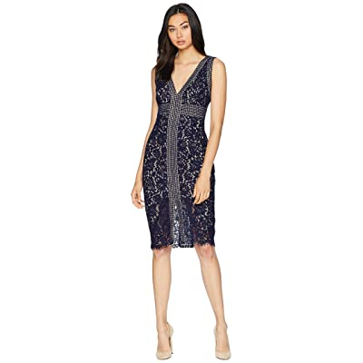 Bardot Morgan Lace Dress (Navy) Women