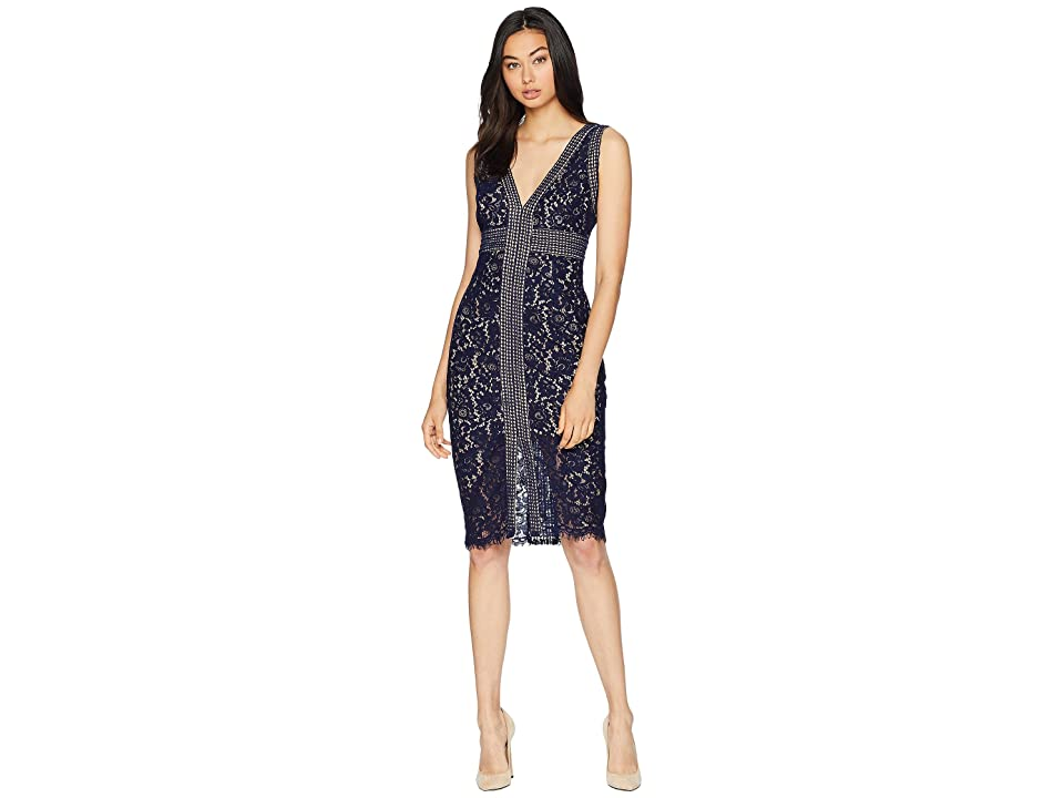 Bardot Morgan Lace Dress (Navy) Women