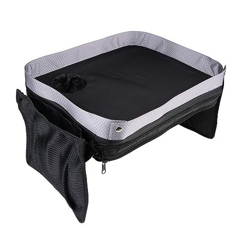 Kids E-Z Travel Lap Desk Tray - Universal Fit for Car Seat f00b4c196235d