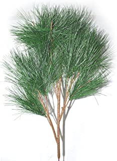 FatColo(R) 70cm real like Plastic Artificial fake plastic Pine Evergreen Plant Tree Branch Green for Christmas Wedding Home Office Furniture Decor