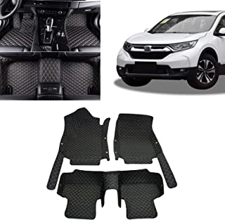 Toryea 3D Covered Waterpoof Contour Liners Floor Mats Fit Honda CR-V 2017 2018 2019