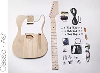 DIY Electric Guitar Kit - Ash TL Build Your Own Guitar