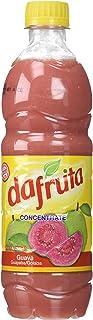 Dafruta Guava Concentrate Juice 16.9 Fl.Oz.   Suco de Goiaba Concentrado 500ml (Pack of 01)