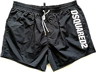 4fcf52fe1db8 Dsquared Costume da Bagno Uomo Boxer Corto D7B642420.200 Nero Swim Short