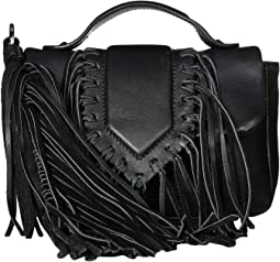 Camille Fringe Flap Mini Bag