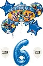 Skylanders Balloons Bundle for 6th Birthday Party
