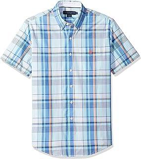 U.S. Polo Assn.......... - Camisa de Manga Corta clásica para Hombre