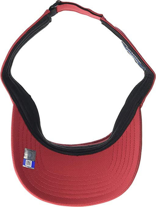 Top of the World Mens Team Color Athletic Mesh Strech Fit Team Icon Visor