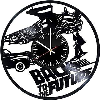 TikTok Studio Back to The Future Vinyl Record Wall Clock, Back to Future Wall Art, Back to Future Decor, Back to Future Gi...