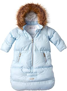 Girls Boys Newborn Infant Baby Puffer Carbag Pram Bag Snowsuit Bunting