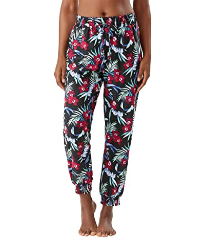 Tommy Bahama Midnight Orchid Joggers (Black) Women