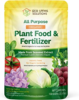 Sponsored Ad - Eco Living Solutions - Natural Plant Food & Fertilizer from Seaweed | All Purpose Fertilizer | Flower Ferti...