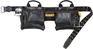DEWALT DG5472 Carpenter's Top Grain Leather Apron, 12 Pocket