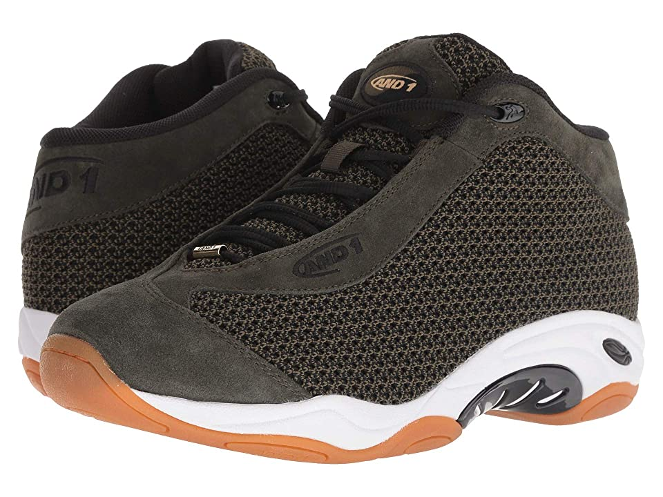 AND1 Tai Chi LX (Capulet Olive/Black/Gum) Men
