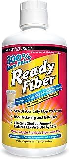 Ready Fiber Non-GMO Liquid Fiber by Health Direct | 12 Grams Fiber with Prebiotic FOS | 15 Fl Oz