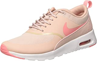 Nike Women's Air Max Thea Low-Top Sneakers, Pink (Pink Oxford/Bright Melon/White), 4 UK