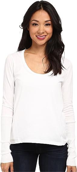 Alternative - Scoop Neck T-Shirt Long Sleeve
