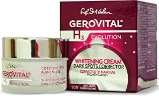 GEROVITAL H3 EVOLUTION, Whitening Cream Dark Spots Corrector With Superoxide Dismutase (The Anti-Aging Super Enzyme) 30+