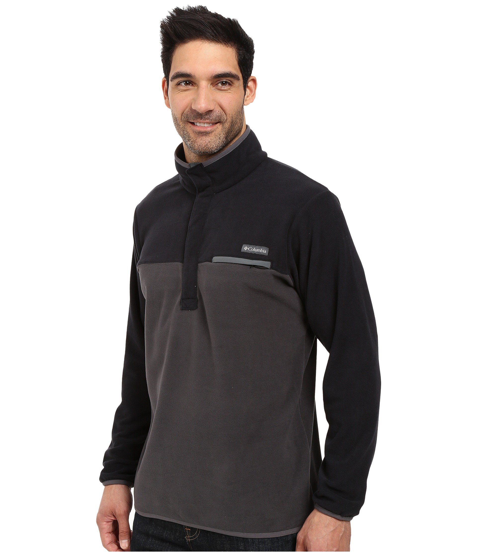 Mountain Black Jacket graphite shark Columbia Side Fleece TqwCx11p