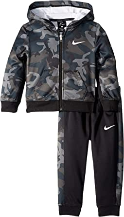 Camo All Over Print Full Zip Therma Set (Toddler)