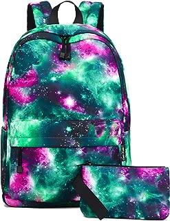VentoMarea Unisex Galaxy School Backpack Laptop Bag Sports Traveling Daypack