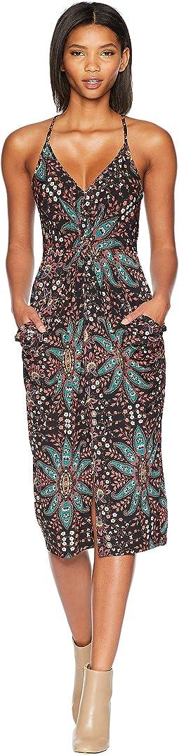 Knot Fit Drapey Pocket Dress
