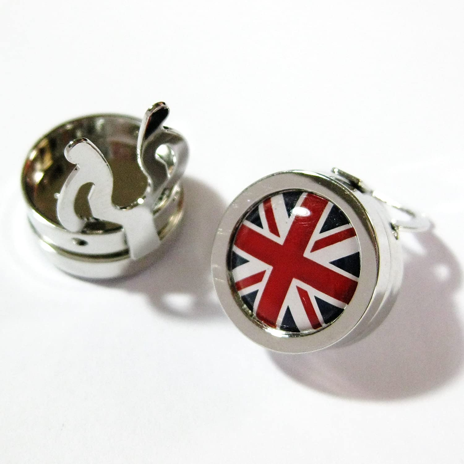 The5thL Round Union Jack Flag Flag Flag Button Covers UK British 130022-1 ce6f19