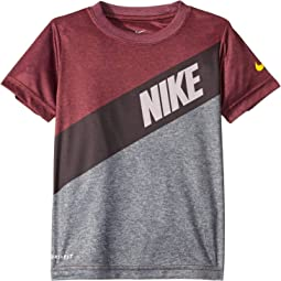 Swoosh Shield Dri-FIT Short Sleeve Tee (Little Kids)