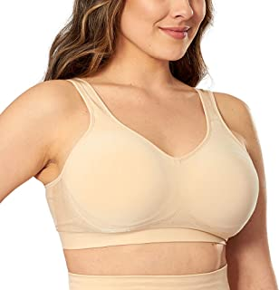 Compression Wirefree High Support Bra for Women Small to...