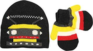 Toddler Winter Knit Hat and Mitten Set (Ages 2 and under)