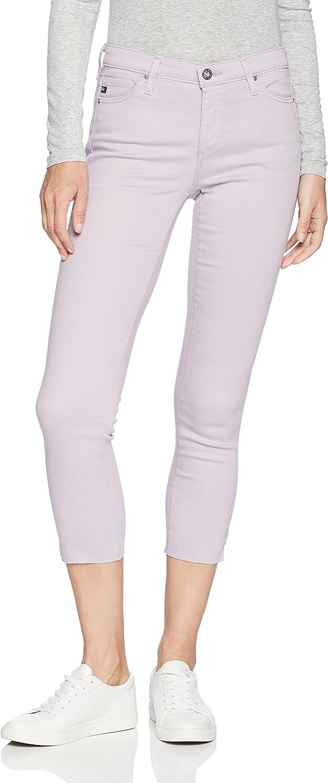AG Adriano goldschmied Womens Prima Crop Cigarette Leg Jeans