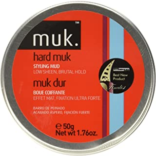 Muk Haircare Hard Brutal Hold Mud, 1.76 Ounce